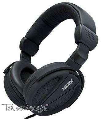 X Wave slušalice sa mikrofonom HD 520