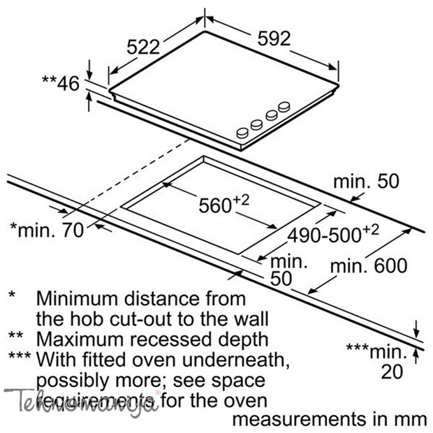 Bosch ugradna ploča PKF 659C17E