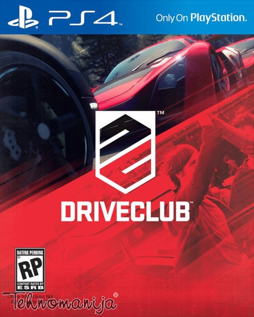 Sony PS4 igrica DRIVE CLUB PS4
