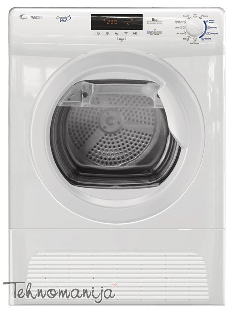CANDY Mašina za sušenje veša GVC 7813 NB, Kondenzatorska