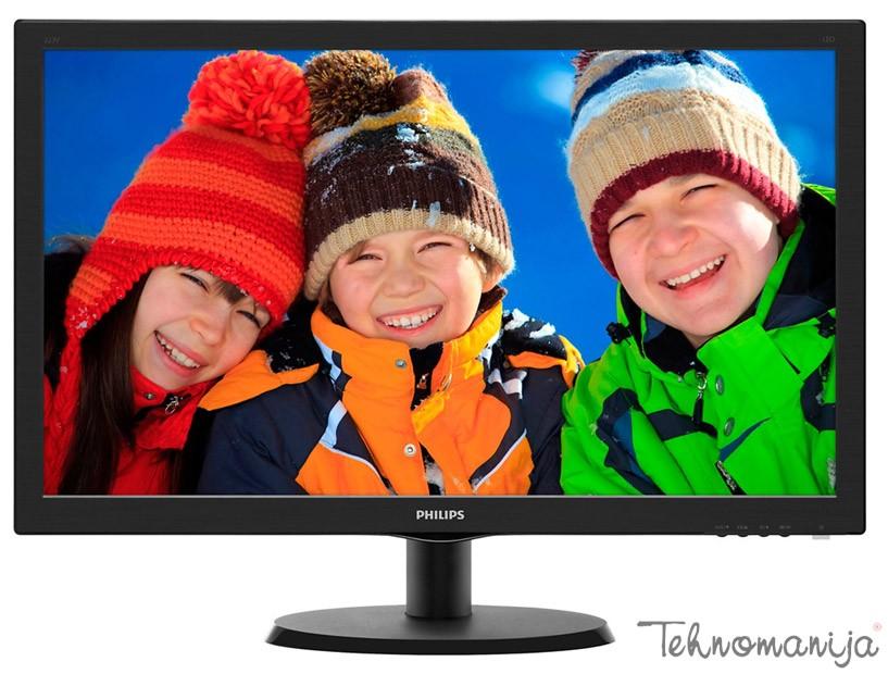 """PHILIPS Monitor 22"""" 223V5LSB 00, W-LED, 1920 x 1080 Full HD"""