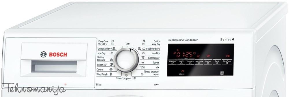 BOSCH Mašina za sušenje veša WTW 85460BY, Toplotna pumpa