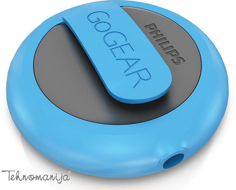 PHILIPS Mp3 player MiniDot SA 5DOT02BN 12, 2GB