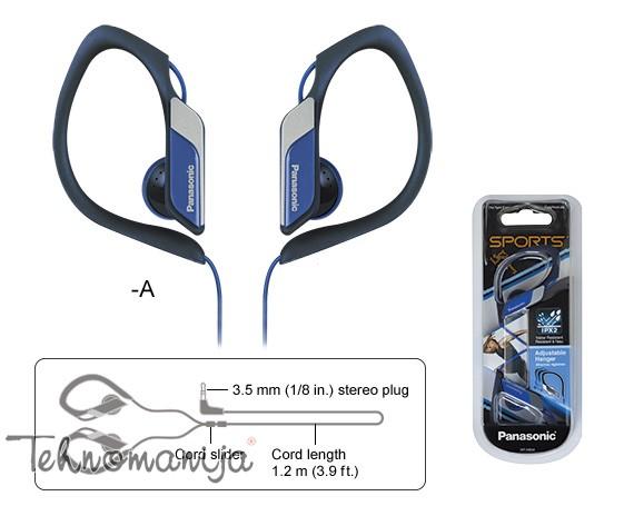 PANASONIC Slušalice RP HS34E A