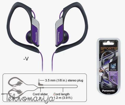 PANASONIC Slušalice RP-HS34E-V