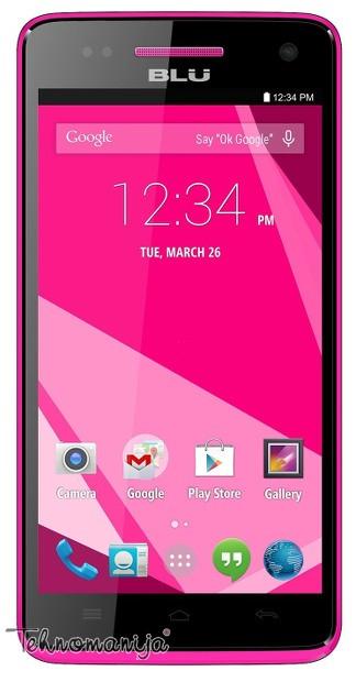 Blu smart mobilni telefon Studio 5.0 C HD D534L PINK