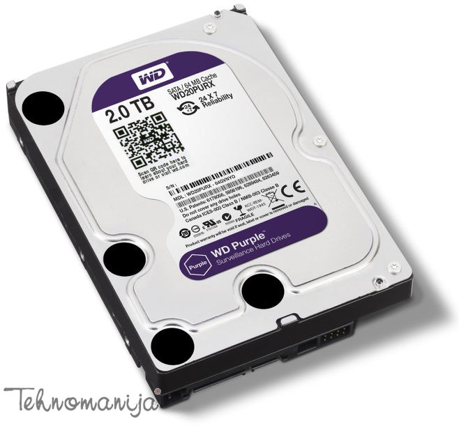 WESTERN DIGITAL Hard disk WD20PURX