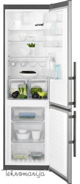 ELECTROLUX Kombinovani frižider EN 3853 MOX, Twin Tech Frost Free