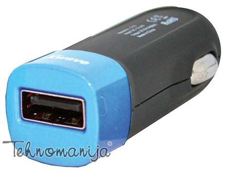 X Wave autopunjač C110 BLUE