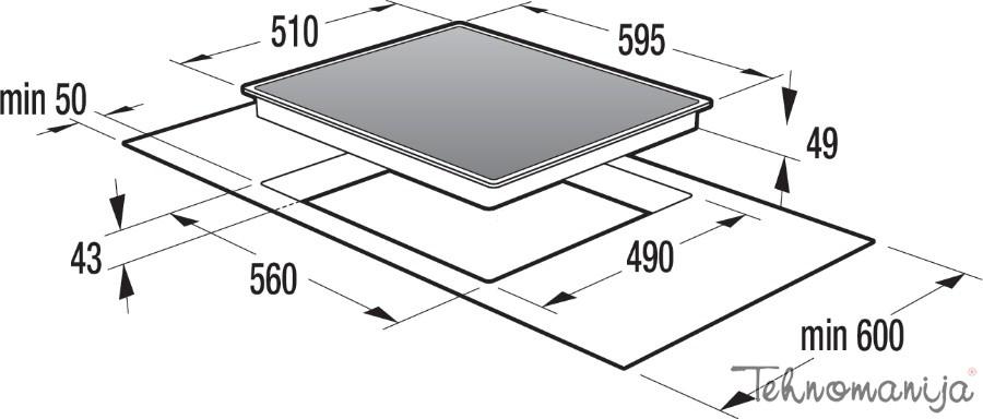 Gorenje ugradna ploča ECD620X