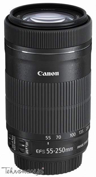 Canon objektiv EF 55250 F4 5 6 IS