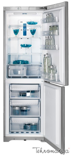 INDESIT Kombinovani frižider BIAA 13P FX, No Frost