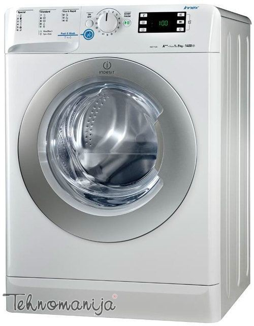 INDESIT Mašina za pranje veša XWE 91283X WSSS