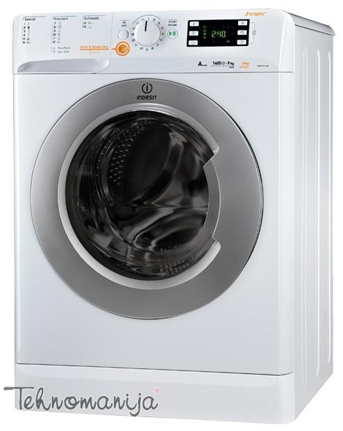 Indesit mašina za pranje i sušenje veša XWDE 961480X