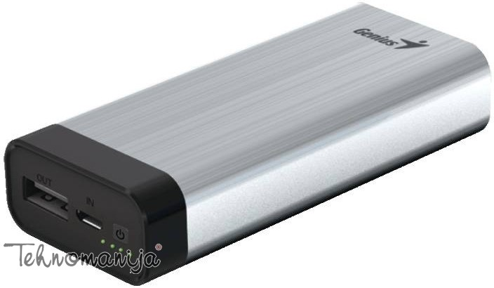 GENIUS Power Bank ECO U527 SILVER