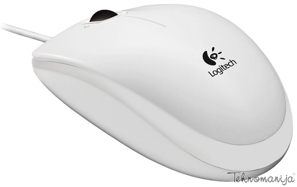 LOGITECH Žični miš B100WH