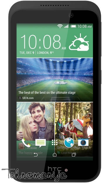 HTC smart mobilni telefon Desire 320 GRAY