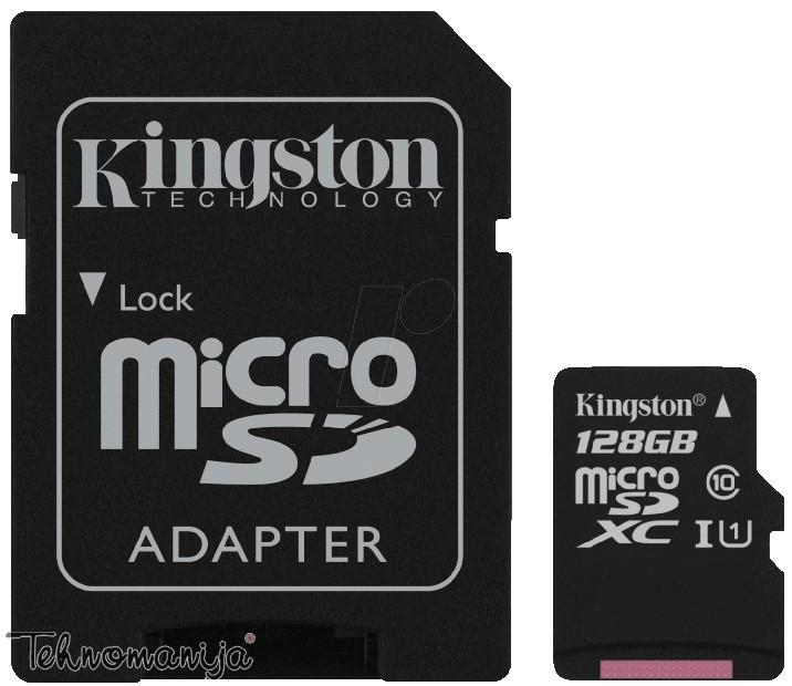 Kingston memorijska kartica KFSDCX10/128GB