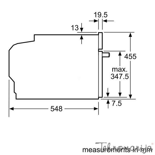 Siemens ugradna rerna CM 676GBS1