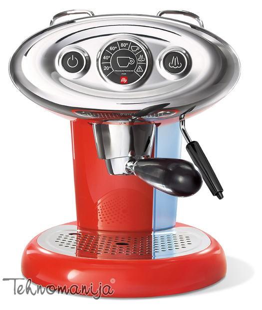 Illy aparat za espresso X7 CRVENI