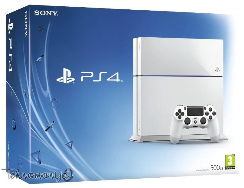 Sony konzola PlayStation 4 PS4 500GB GLAC WH