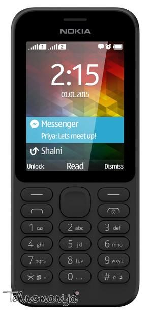 Nokia mobilni telefon N 215 DS BK