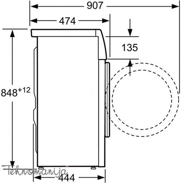 Bosch veš mašina WLT 24440BY - Slim