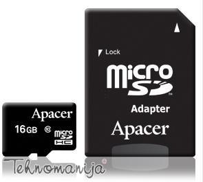 APACER Memorijska kartica MICRO UHS C10 16GB