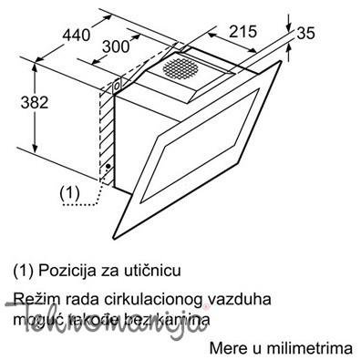 Siemens aspirator LC 98KD672