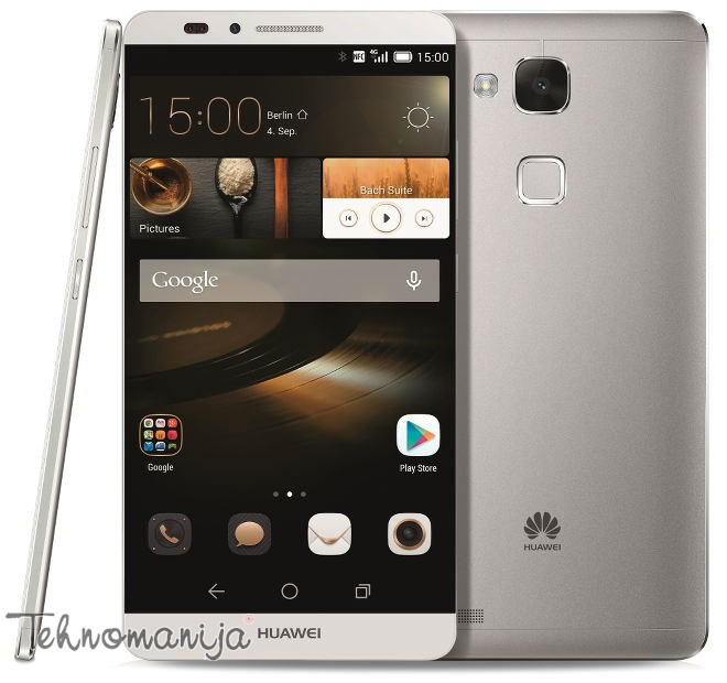 Huawei smart mobilni telefon Ascend Mate7 SILVER