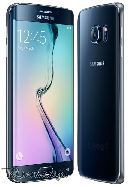 Samsung smart mobilni telefon Galaxy S6 G925 EDGE 32GB BK