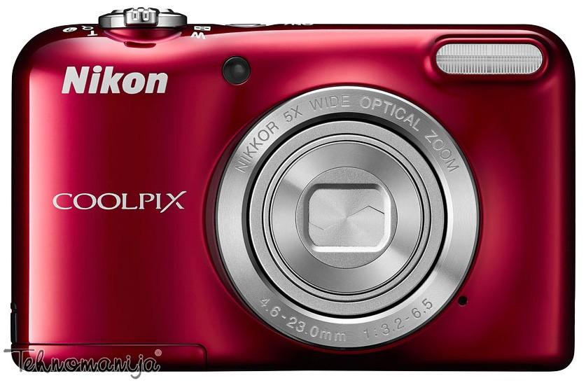 Nikon fotoaparat Coolpix L31 CRVENI
