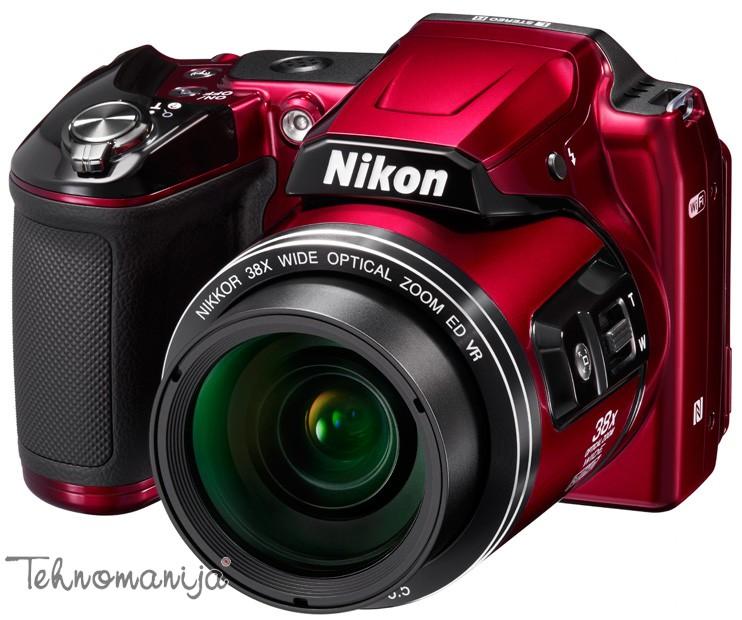 Nikon fotoaparat Coolpix L840 CRVENI
