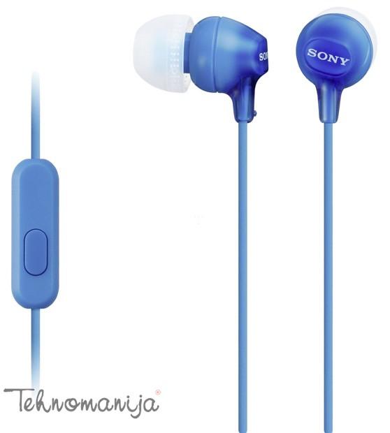 Sony slušalice sa mikrofonom MDR-EX15APLI