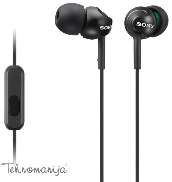 Sony slušalice sa mikrofonom MDR-EX110APB