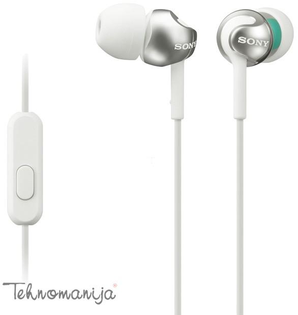 SONY Slušalice MDR-EX110APW