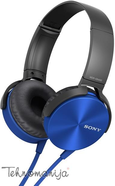 Sony slušalice sa mikrofonom MDR-XB450APL