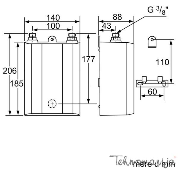 SIEMENS Protočni bojler DE 06101