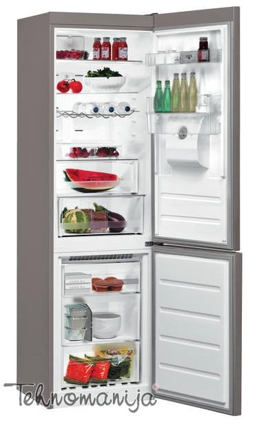 WHIRLPOOL Kombinovani frižider BSNF 8451 OX AQUA, Supreme No Frost