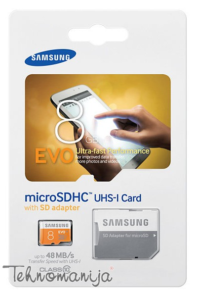 Samsung memorijska kartica MB-MP08DA