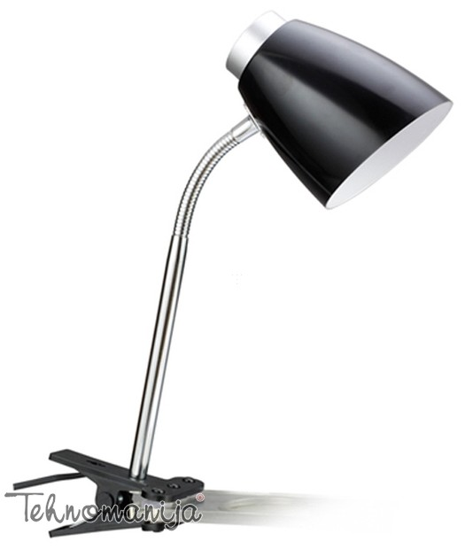 Novolux stona lampa 1121-CSL CRNA