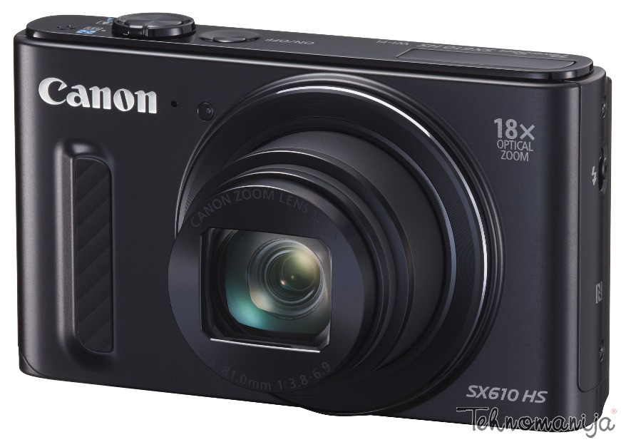 Canon fotoaparat PowerShot SX 610HS BK