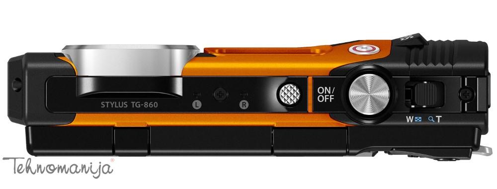 Olympus fotoaparat Tough TG-860 ORANGE