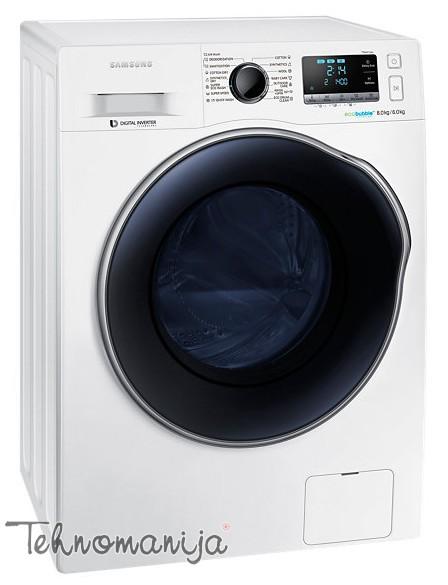 SAMSUNG Mašina za pranje i sušenje veša WD 80J6410AW