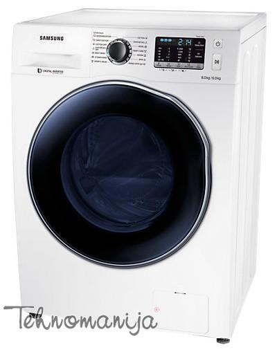 SAMSUNG Mašina za pranje i sušenje veša WD 80J5430AW