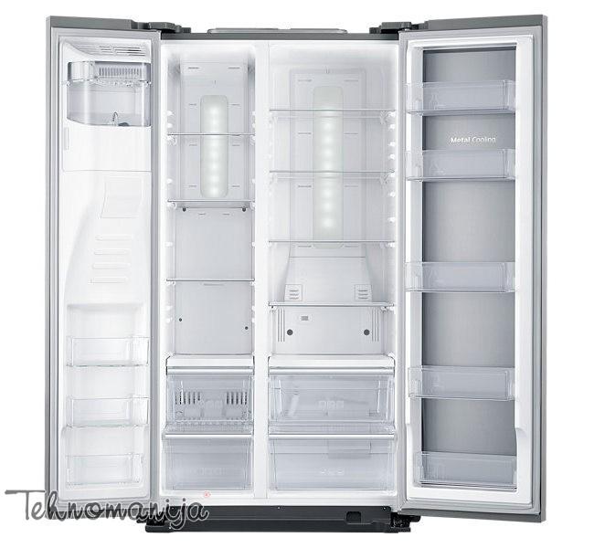 SAMSUNG Side by side frižider RH56J6917SL, No Frost
