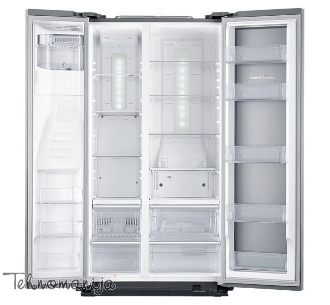 SAMSUNG Side by side frižider RH 56J6917SL, No Frost Twin Cooling Plus