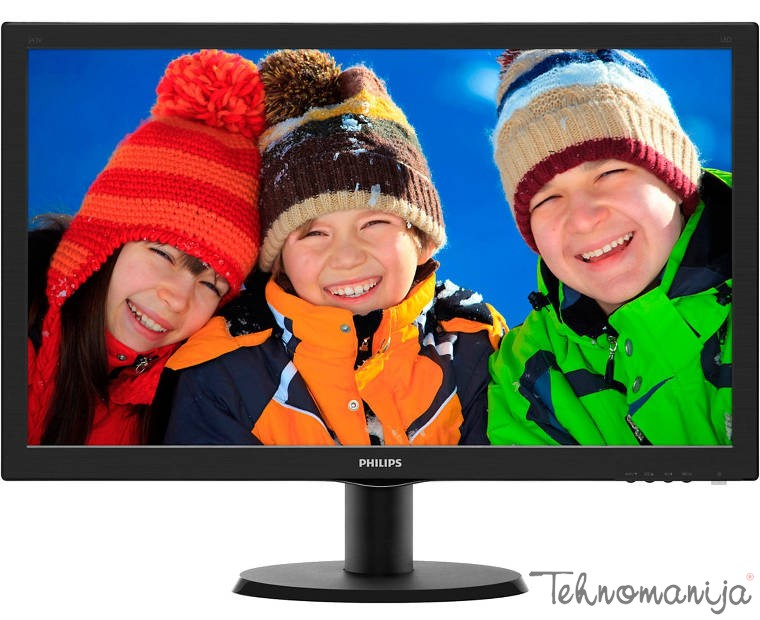 "Philips 24"" LED LCD monitor 243V5LSB"