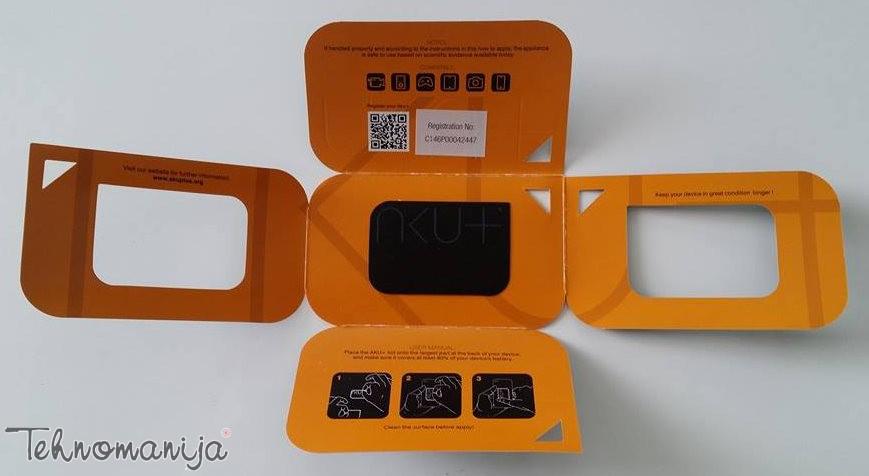 AKU+ folija za bateriju