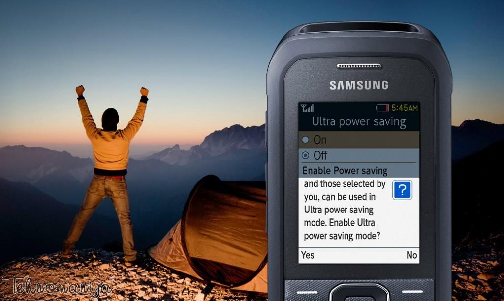 Samsung mobilni telefon Xcover B550 BK